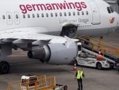 AP - Avião Airbus A320 da empresa Germanwings, a bandeira de baixo custo que pertence à Lufthansa