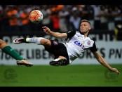 Gols de Corinthians 6 x 0 Cobresal. Marlone e Romero marcam dois cada, e Corinthians termina como melhor brasileiro da Libertadores até então
