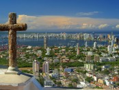 Cidade de Cartagena, na Colômbia