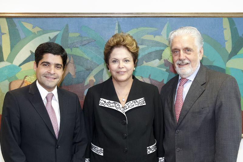 DilmaWagnerNeto reuniaoBSB Robert Stuckert Filho