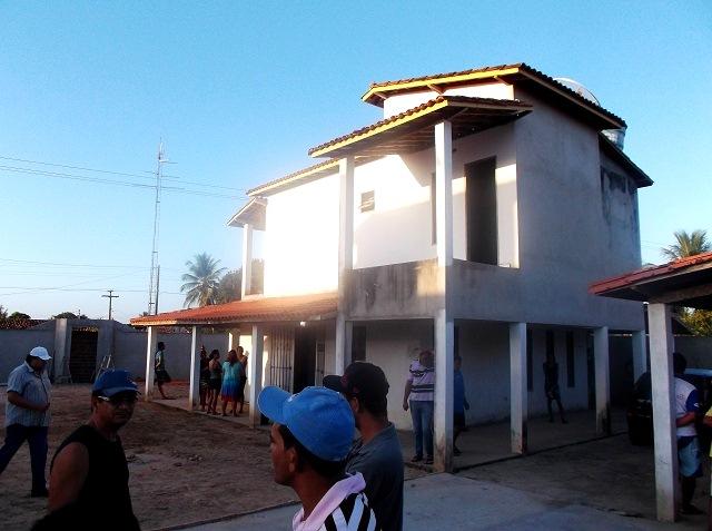 Residência do Prefeito 28/02 (Foto: Acajutiba News)