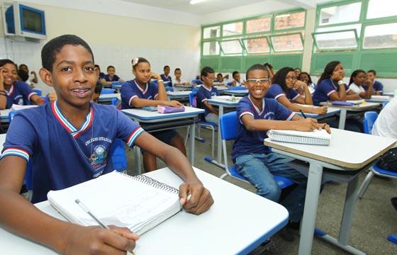 Fim da greve nas escolas estaduais Na foto: Foto: Alberto Coutinho/Secom