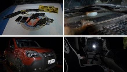 Dois assaltantes morrem em confronto com a polícia após assalto a caminhão em Feira de Santana - See more at: http://www.portaldenoticias.net/v3/dois-assaltantes-morrem-em-confronto-com-a-policia-apos-assalto-a-caminhao-em-feira-de-santana