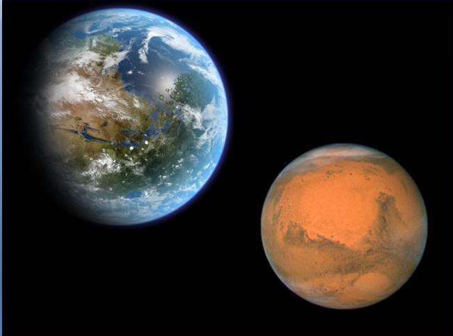 08/04/2014 Marte ficará visível a olho nu na noite de hoje; veja como observar