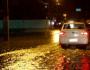 Forte temporal provoca alagamentos e apagão em Cansanção