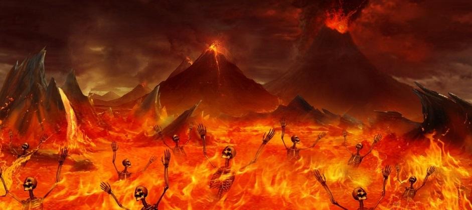 Resultado de imagem para foto inferno