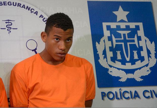 Gilmário Alves do Nascimento, o Novato, foi preso e solto em menos de 20 dias. Ele matou estudante em assalto no Costa Azul (Foto: Arquivo CORREIO)