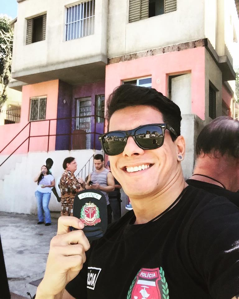 """Lucas Abreu em """"Haja Coração"""" (Cena deve ir ao ar em breve)"""