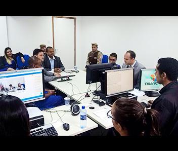 A videoconferência permitiu que todos os participantes pudessem ver e ouvir o ato processual na íntegra