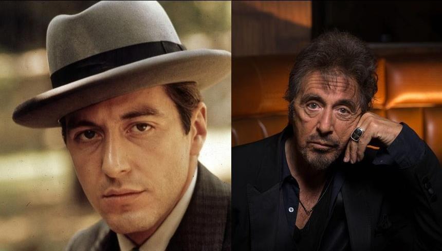 Al Pacino: o eterno Don Michael Corleone mudou bastante desde os anos 70, ficando quase irreconhecível FOTO: Reprodução