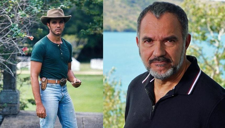 Humberto Martins: o ator global continua a atuar, porém sem o físico avantajado que chamava a atenção das moças no começo de sua carreira FOTO: Reprodução