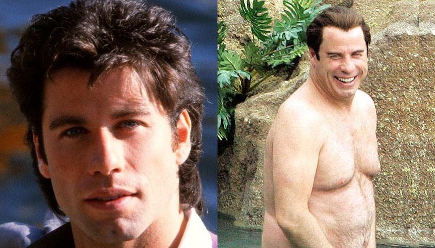 John Travolta: o astro de Grease talvez tivesse conservado pelo menos a boa forma se continuasse a dançar FOTO: Reprodução