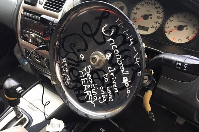 O veículo, que não tinha seguro para circular, foi apreendido | Divulgação/Adelaide Police - SAPOL