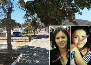 acidente mata mae e filha de jacobina