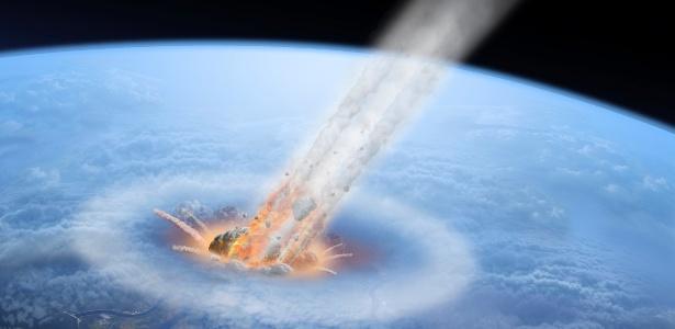 asteroide colisao terra astronomia