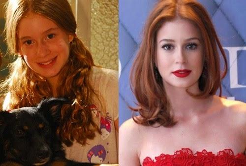 mariana antes e depoiss