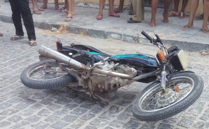 moto usada no crime nos barreiros