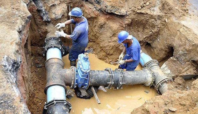 troca rede agua garca online