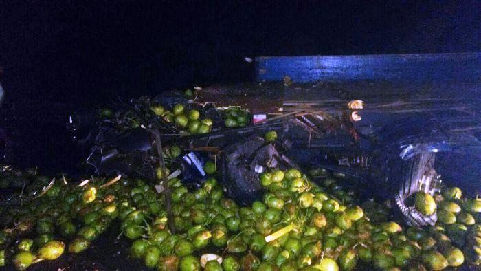 carga de coco