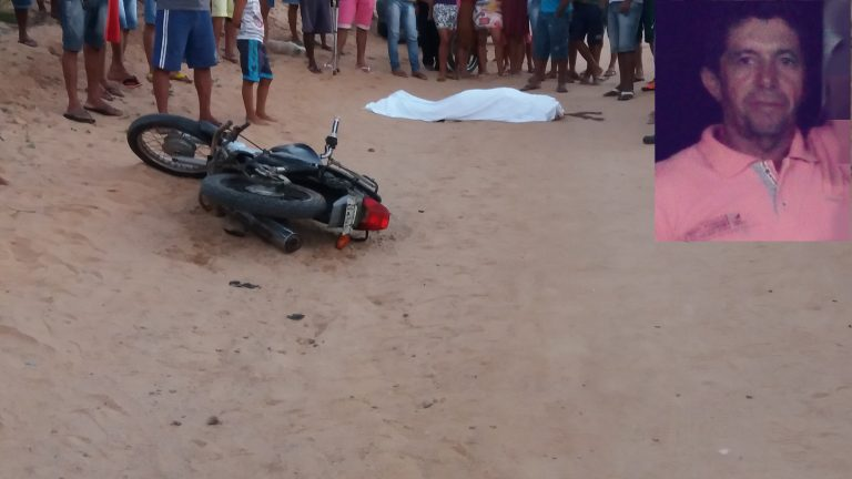 vaqueiro morre em acidente de moto tucano