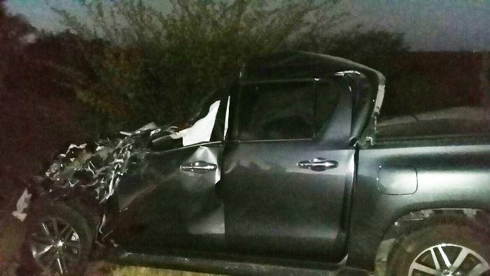 caminhonete acidente br 324