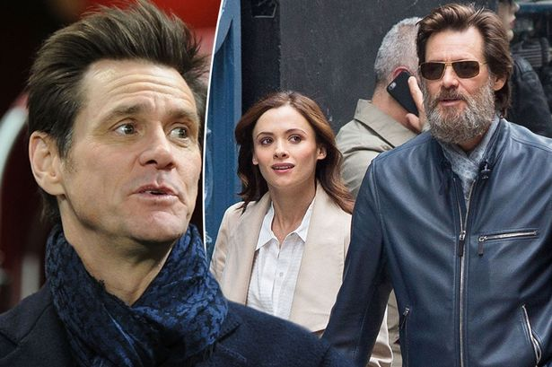 Jim Carrey and Cathriona White MAIN