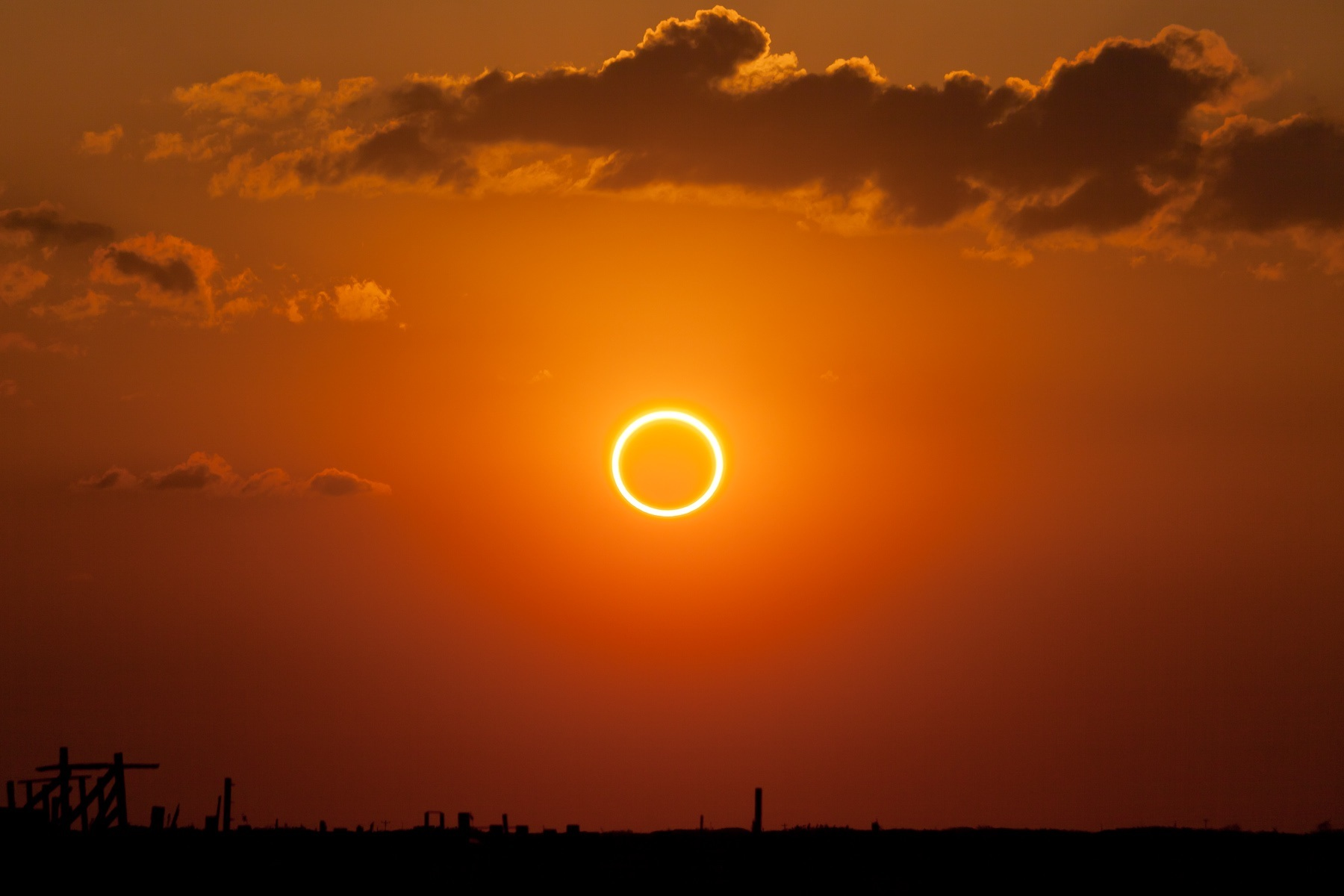annular eclipse  ring of fire