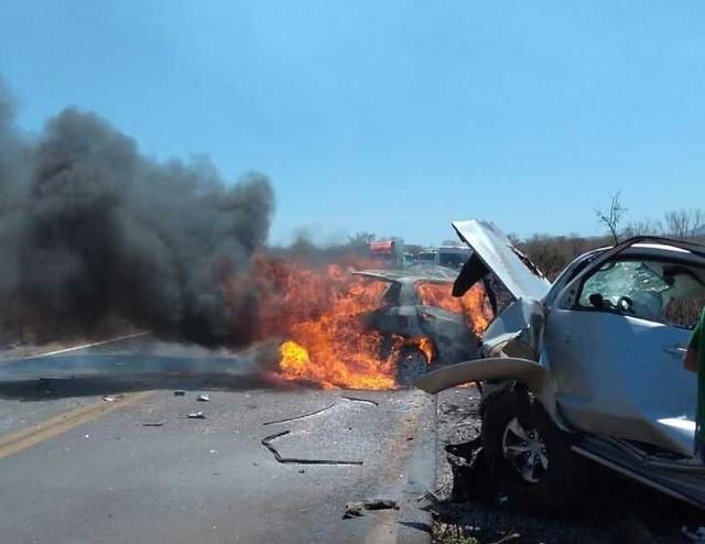 acidente br135
