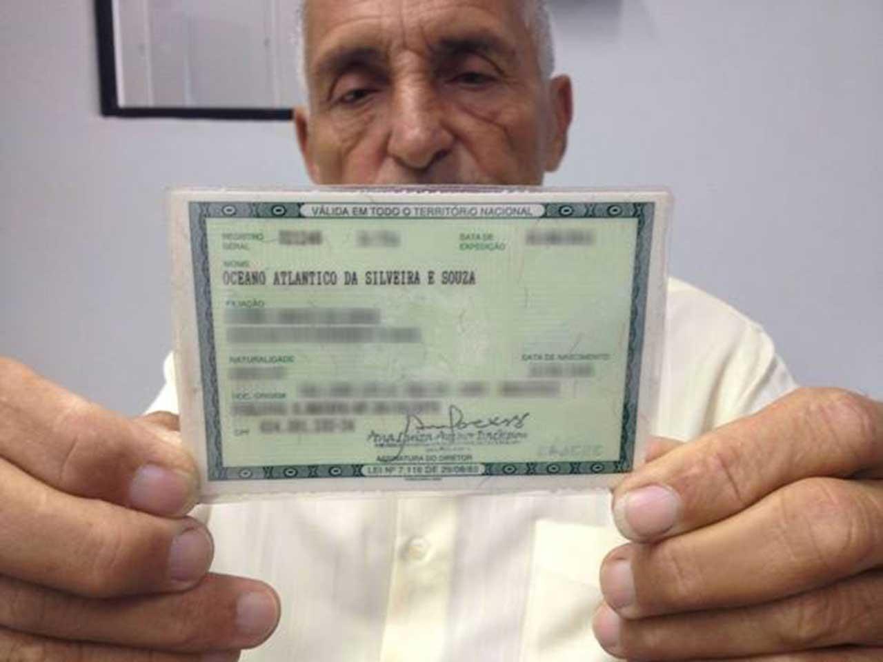 Nomes esquisitos que foram registrados no Brasil