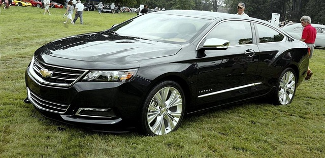 2017 Chevrolet Impala front view