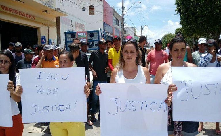 protesto em iaçu