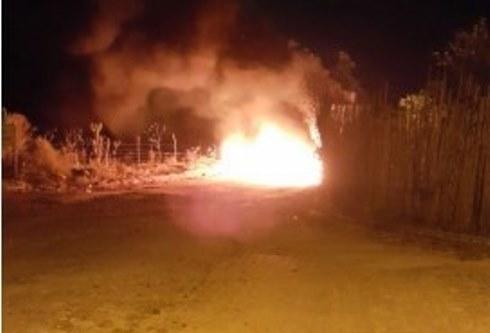 incendiotentativa de assalto a mina
