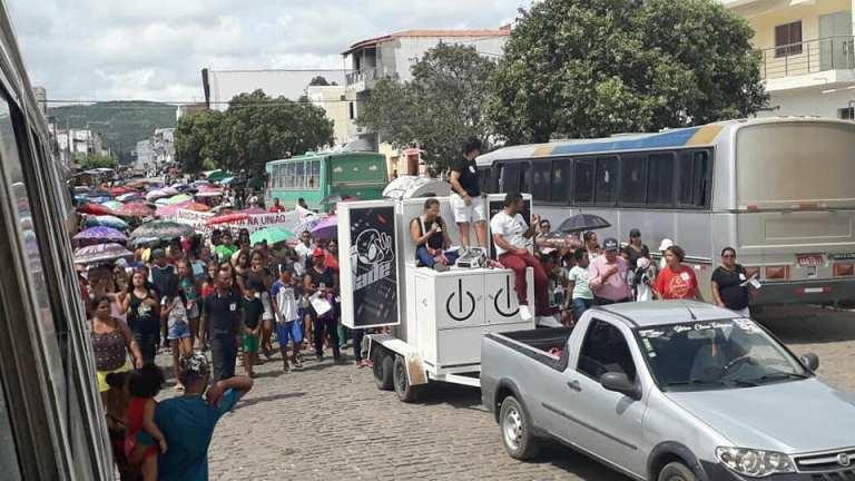 greve de professores em itiuba 2