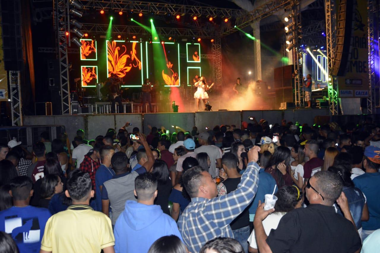 Banda Desejo de Menina palco. Foto Gabriel Silva Ag Fred Pontes