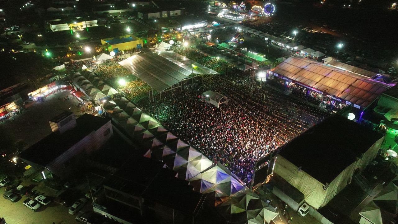 O Forródromo de Euclides da Cunha recebeu 60 mil pessoas na noite deste domingo 24. FOTO I9 Propaganda