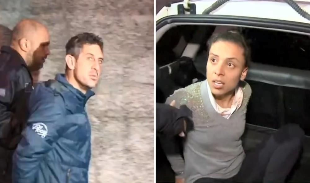 casal suspeito preso em aracariguama