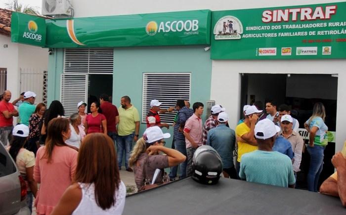 inauguração da ascoob itapicuru retiro 7