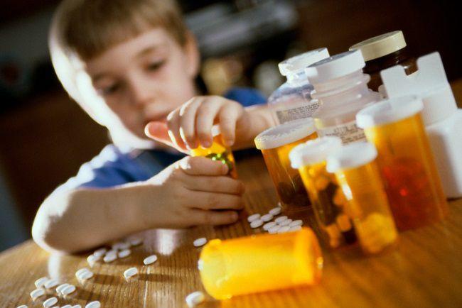 intoxicacao medicamento crianca