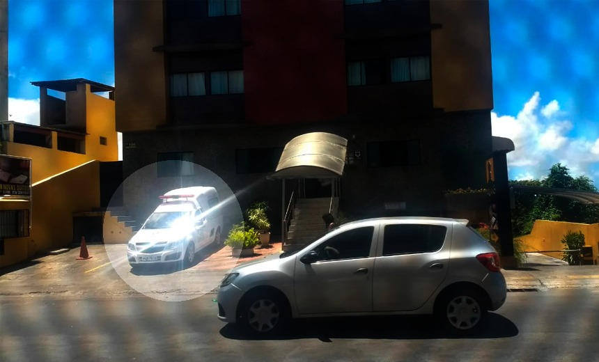 Ambulância de Itiúba no motel