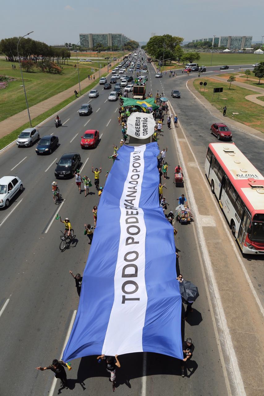 Ato Pro Bolsonaro Brasilia 3