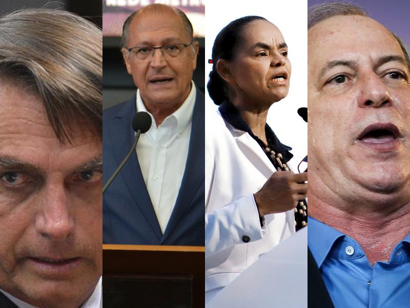 Bolsonaro Alckmin Marina Ciro segundo turno Fotos Pblicas