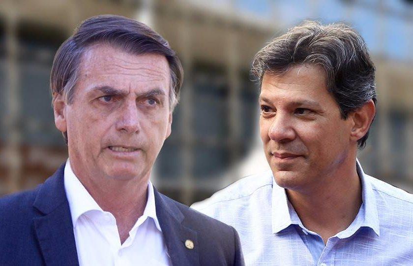 Haddad e Bolsonaro 840x540