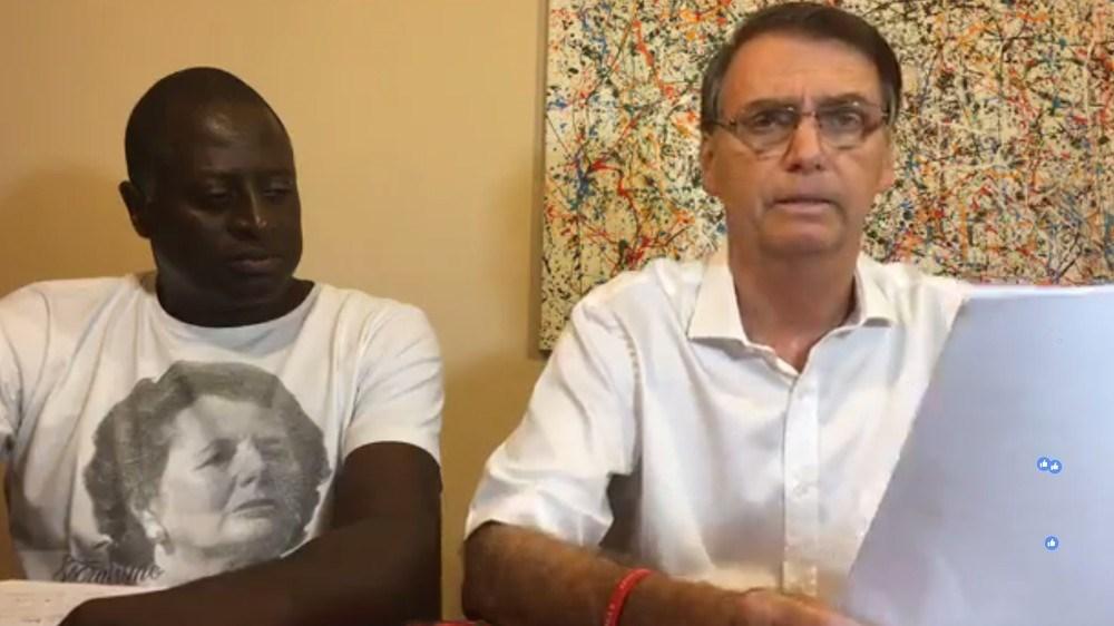 bolsonaro no facebook live