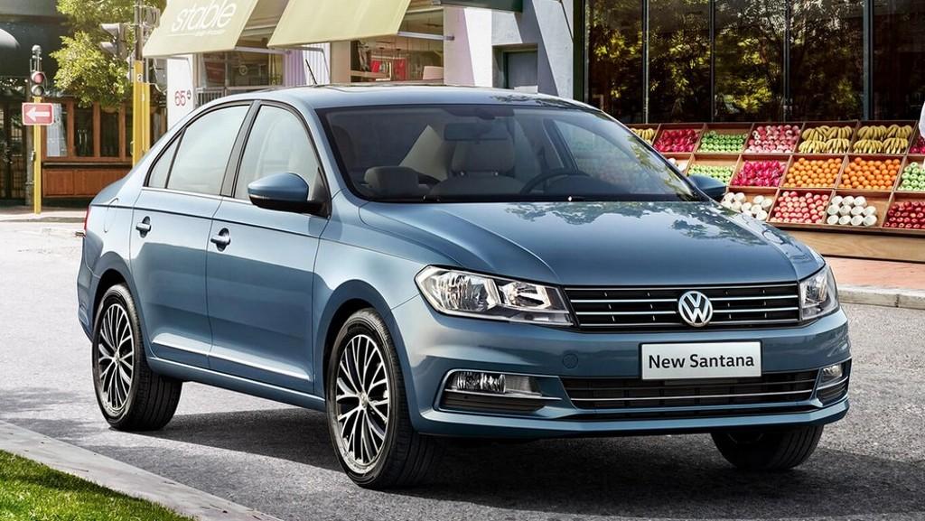 Volkswagen Santana 1