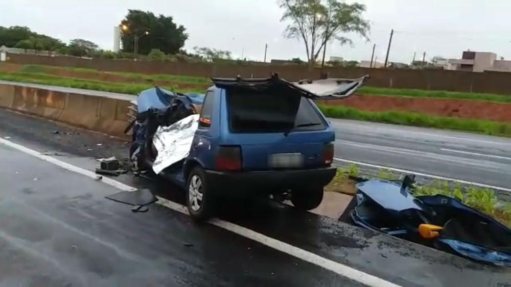 acidente na br