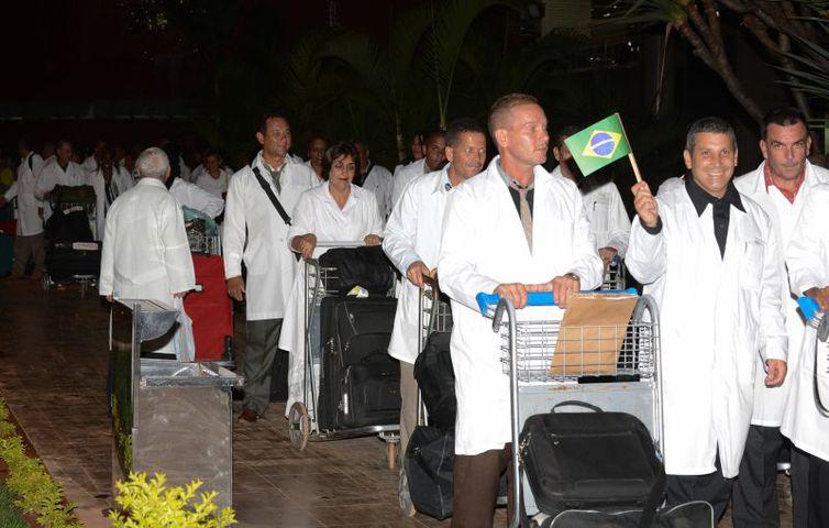 chegada medicos