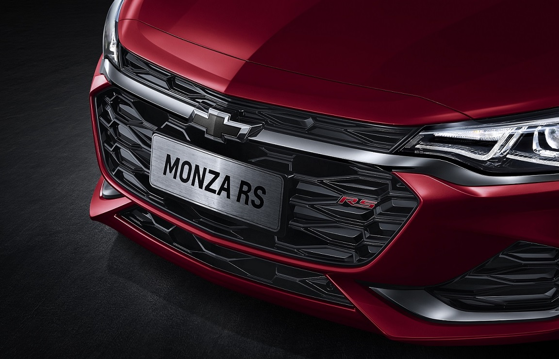 Novo Chevrolet Monza RS é apresentado no Salão de Guanzhou