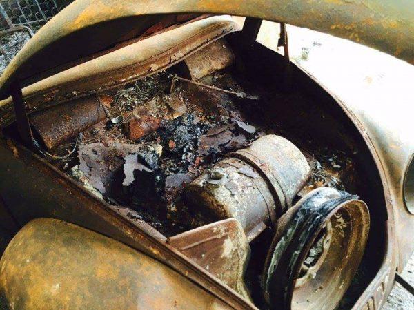 fusca chassi 03 do ano de 1939 foi totalmente restaurado 06