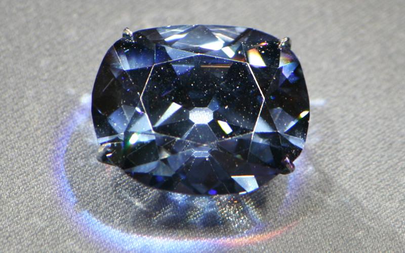 hope diamond light