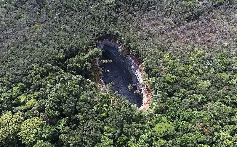cratera matarandiba vera cruz vista aerea foto Dow Chemicals